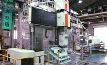 Large NC machining center.Shin nippon koki RB-150F 5 axis machining center